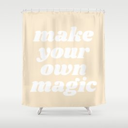 make your own magic Shower Curtain