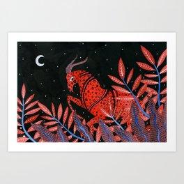 Zodiac - Capricorn Art Print