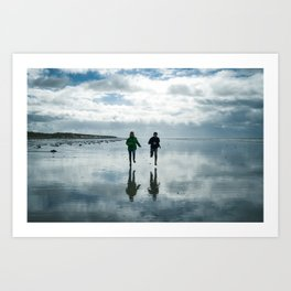 Run for your hapiness Art Print