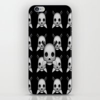 skeletor iPhone & iPod Skins featuring Skeletor by Mountain View Art