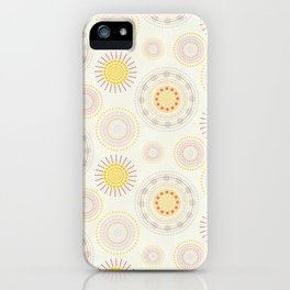 Suzani inspiration iPhone Case