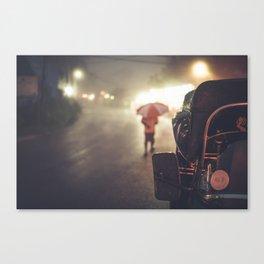 Monsoon Tuk Tuk Canvas Print