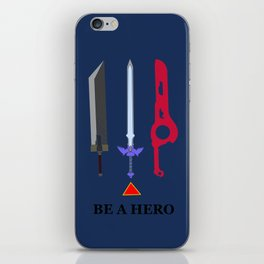 Be A Hero iPhone Skin