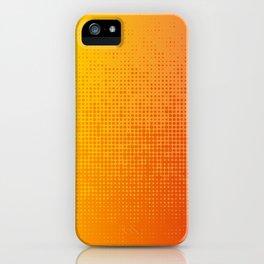 Yellorange Dots iPhone Case
