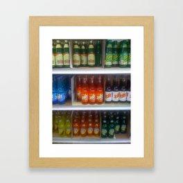 Soda at Galco's Soda Pop Stop Framed Art Print