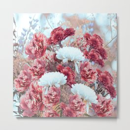 Summer bouquet - #Society6 #buyart Metal Print