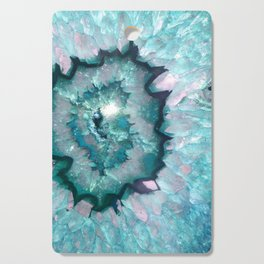 Teal Agate Cutting Board