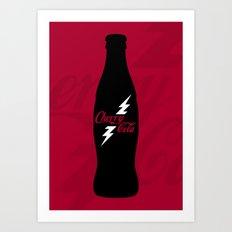 Cherry Cola Art Print