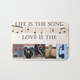 Love of Music Bath Mat