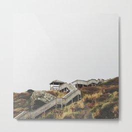 step by step Metal Print
