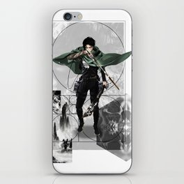Captain Levi Attack on Titan Shingeki no kyojin iPhone Skin