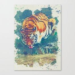 Tiger artwork Canvas Print