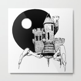 Castle of the Night Metal Print