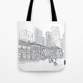 Hong Kong Tai Kwun Sketching Tote Bag