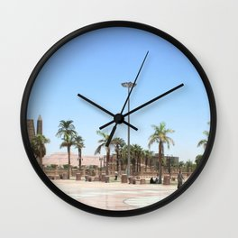 Temple of Luxor, no. 17 Wall Clock