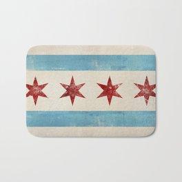 Chicago Flag Bath Mat