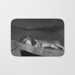 The Big Cat Nap Bath Mat