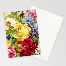 flowers profusion Stationery Cards