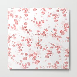 Cherry Flower 6 Metal Print