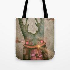 The Antler King Tote Bag
