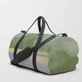 Lavender field Duffle Bag