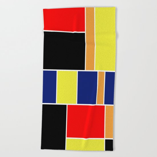 Abstract #404 Beach Towel