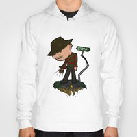 freddy krueger Hoodies featuring Freddy Krueger Cartoon by BJ Sizemore