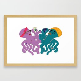 Hipstapus Framed Art Print