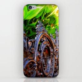 Delicate Metal iPhone Skin