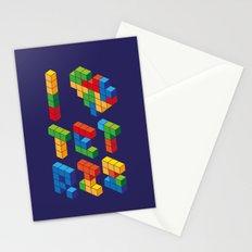 I Heart Tetris Stationery Cards