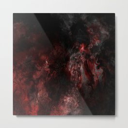 The Only End Metal Print