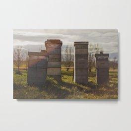 Hives Metal Print