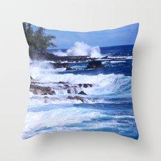 Beach Rockers VI Throw Pillow