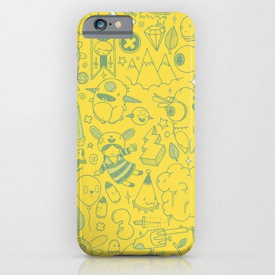 Super Mega Turbo Doodle Power iPhone & iPod Case