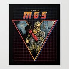 MGS V Canvas Print