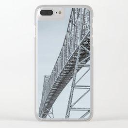 Soaring Design Clear iPhone Case