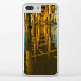 Mirror Under the Pier Clear iPhone Case