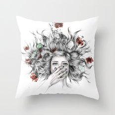 It Overflows Throw Pillow