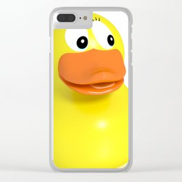 Mother child duck Clear iPhone Case