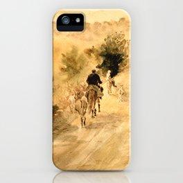 Return Home iPhone Case
