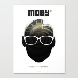 Moby DJ set  Exclusive TBD Fest Poster Canvas Print