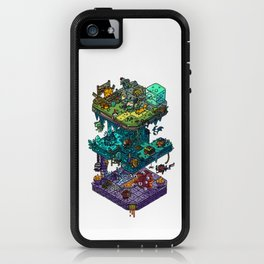 Dungeons and Isometric Dragons iPhone Case