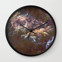 Plasma.Clouds Wall Clock