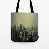 tokyo Tote Bags featuring Tokyo by The Sound of Applause