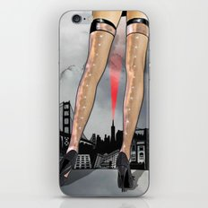 The World At Her Feet iPhone & iPod Skin