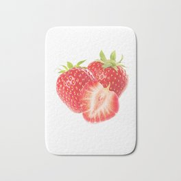 Strawberry 1 Bath Mat