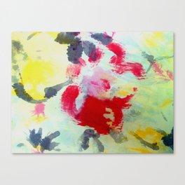 Silk flowers Canvas Print