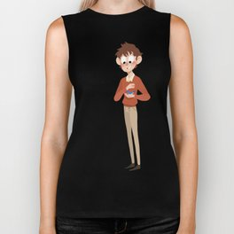 Over the Garden Wall - You Remind me... Biker Tank