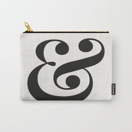 Ampersand - Light and Delicate - Typography Lovers Carry-All Pouch