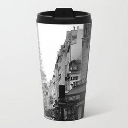 Paris Street Metal Travel Mug